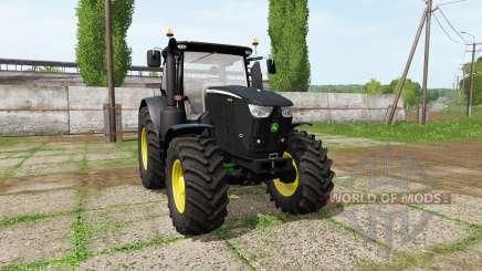John Deere 6230R black для Farming Simulator 2017