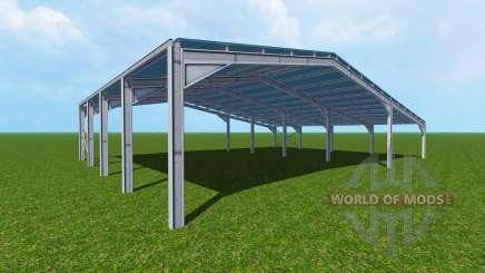 Easy halls для Farming Simulator 2015