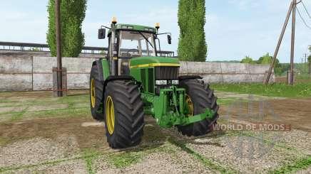 John Deere 7800 v2.0 для Farming Simulator 2017