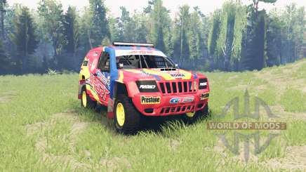 Jeep Grand Cherokee (WJ) Superwolf v1.01 для Spin Tires