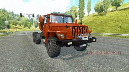 Урал 43202 v3.5 для Euro Truck Simulator 2
