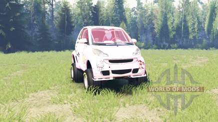 Smart ForTwo supercharge для Spin Tires