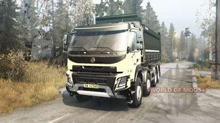 Volvo FMX 2014 v2.1 для MudRunner