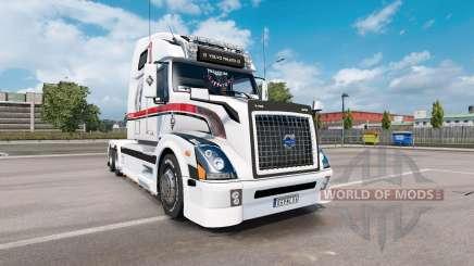 Volvo VNL 670 v1.5 для Euro Truck Simulator 2