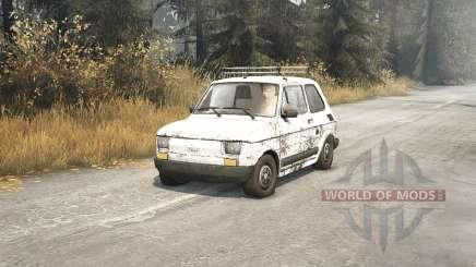 Fiat 126p v1.1 для Spin Tires