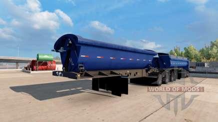 Midland TW3500 B-train для American Truck Simulator