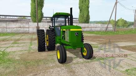 John Deere 4240 для Farming Simulator 2017