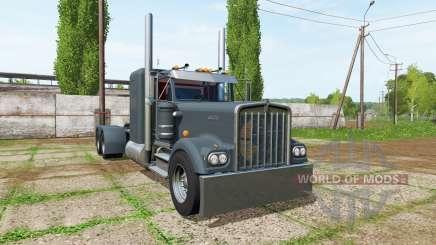Kenworth W900A long для Farming Simulator 2017