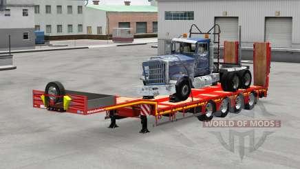 Kassbohrer with cargos v1.1 для American Truck Simulator