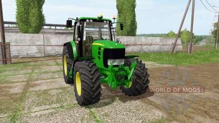 John Deere 7430 Premium для Farming Simulator 2017