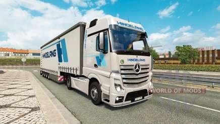 Painted truck traffic pack v2.3.1 для Euro Truck Simulator 2