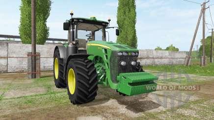 John Deere 8345R v2.0 для Farming Simulator 2017