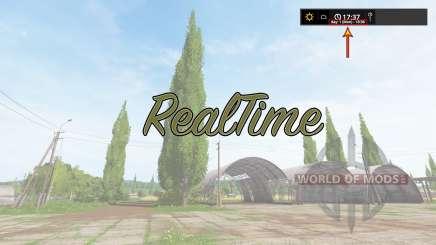RealTime v2.0 для Farming Simulator 2017
