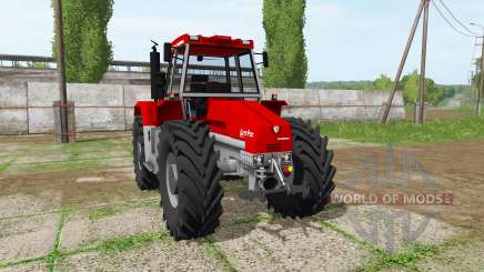 Schluter Euro-Trac 2000 LS для Farming Simulator 2017