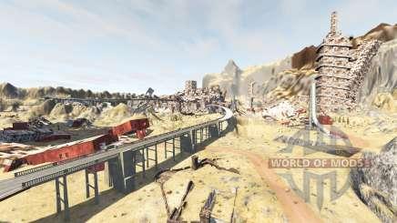 Wasteland v1.2 для BeamNG Drive