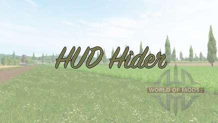 HUD Hider v1.15 для Farming Simulator 2017