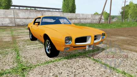 Pontiac Firebird 1970 для Farming Simulator 2017
