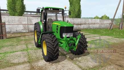 John Deere 7530 Premium v2.0 для Farming Simulator 2017