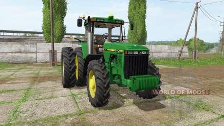 John Deere 8410 v1.0.1 для Farming Simulator 2017