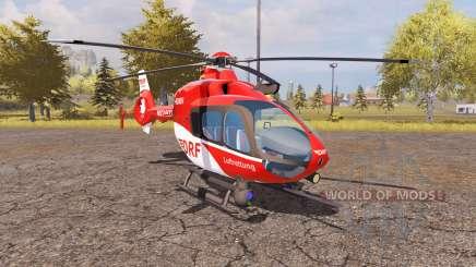 Eurocopter EC135 T2 DRF v2.0 для Farming Simulator 2013