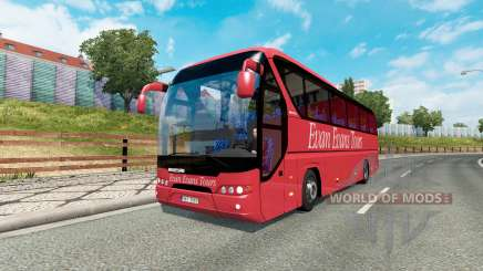 Bus traffic v1.4 для Euro Truck Simulator 2