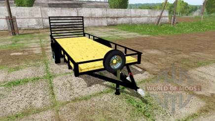 Platform trailer для Farming Simulator 2017