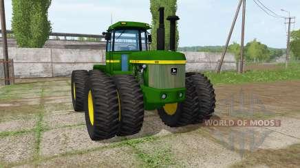 John Deere 8630 для Farming Simulator 2017