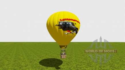 Hot air balloon для Farming Simulator 2015