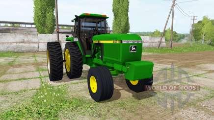 John Deere 4560 для Farming Simulator 2017