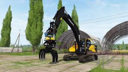 Volvo EC300E для Farming Simulator 2017