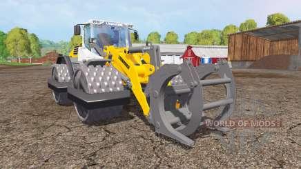 Liebherr L576 special sillage для Farming Simulator 2015