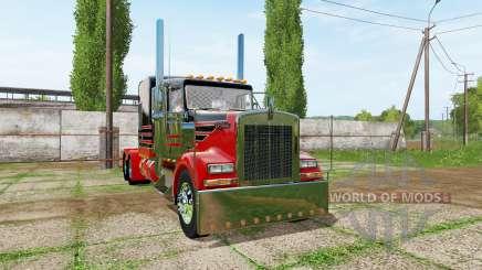 Kenworth W900 v1.3 для Farming Simulator 2017