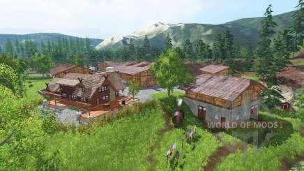 Ульстейнвик v1.5 для Farming Simulator 2015