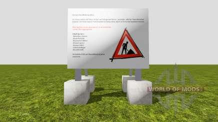 Set construction sites v1.1 для Farming Simulator 2015