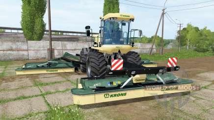 Krone BiG M 500 v3.1 для Farming Simulator 2017