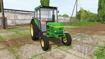 John Deere 1630 для Farming Simulator 2017