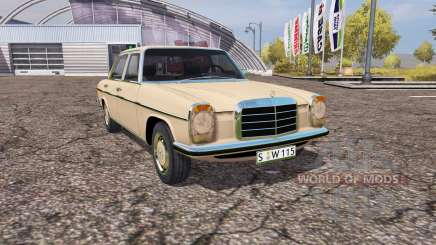 Mercedes Benz 200D (W115) для Farming Simulator 2013