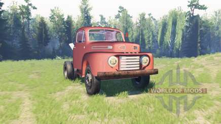 Ford F-6 1950 Stubby Bob для Spin Tires