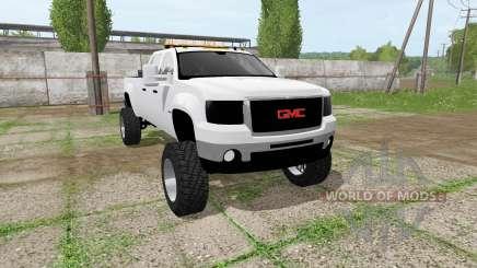 GMC Sierra 2500 2011 для Farming Simulator 2017