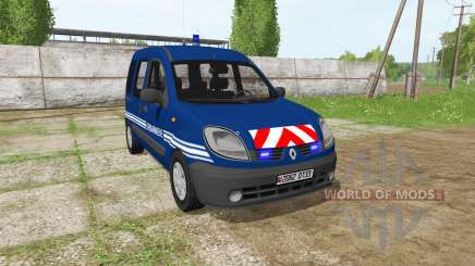 Renault Kangoo Gendarmerie для Farming Simulator 2017