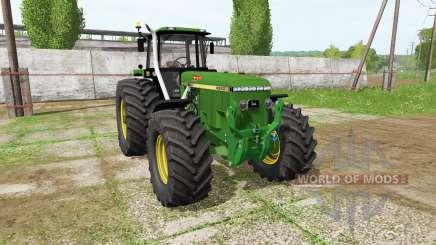 John Deere 4960 v2.0 для Farming Simulator 2017