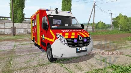 Renault Master Ambulance для Farming Simulator 2017