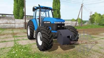 New Holland 8670 v0.9 для Farming Simulator 2017