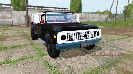 Chevrolet K10 1972 для Farming Simulator 2017