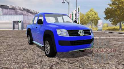 Volkswagen Amarok для Farming Simulator 2013