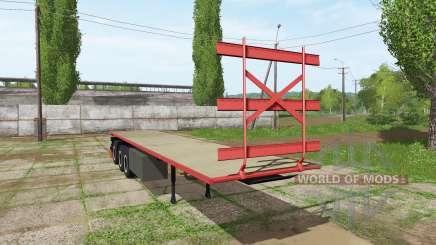 Bale semitrailer для Farming Simulator 2017