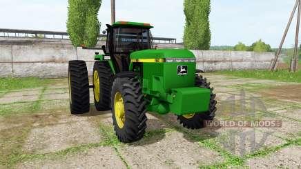 John Deere 4960 для Farming Simulator 2017