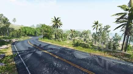 Dry rock island для BeamNG Drive