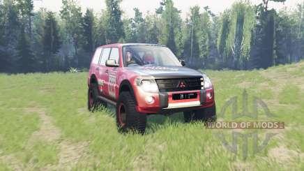 Mitsubishi Montero для Spin Tires