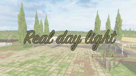 Real day light v1.1 для Farming Simulator 2017